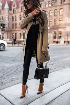 621aea623f74 Blogger Mia Mia Mine dishes out her tips on how to save for your first  designer handbag  Mia Mia Mine wears burberry trench coat