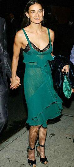 Demi Moore in YSL