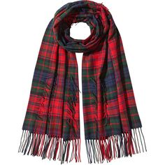 Beaded Feather-trimmed Wool Scarf - Red Prada mAQUoZtish