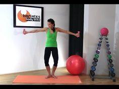 FREE Barre Workout - Upper Body Barre Challenge BARLATES BODY BLITZ - YouTube