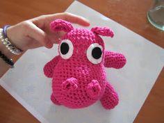 Hipopotama amigurumi  Diario de una Jubilada Precoz: Amigurumi