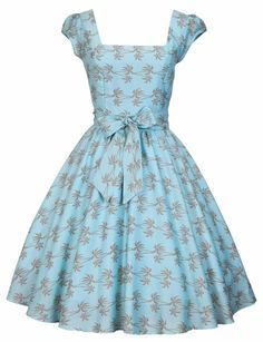 Lady Vintage Swing Dress IN 19 Different Prints 50s Rockabilly Retro Size 8 22 | eBay