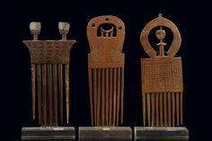 Three combs - Ghana