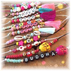 Letter Bead Bracelets Handmade by SaZjewelry