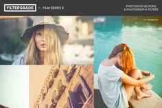 The FilterGrade Photoshop Actions Bundle includes all 220 FilterGrade Photoshop actions for you to use on your photos. From vintage to fashion, it includes everything.