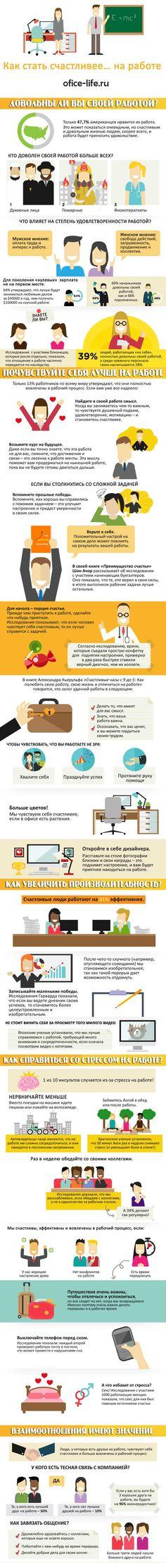 Как стать счастливым на работе