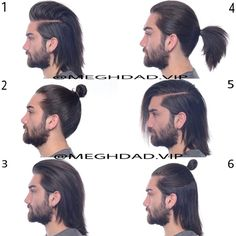 How To Style Long Hair Men New Ways To Stimulate Hair Growth Naturally  Pinterest  Man Bun