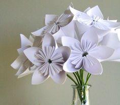 bouquet de flores de papel (pap)