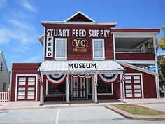 Stuart Heritage Museum, Stuart, FL My first pair of cowboy boots were purchased from here about 40 years ago-before it was a museum.