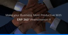 How #ERP Software Manage your #Business by 360° Degree