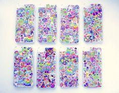 Iphone 5 Lisa Frank Phone Case, 90s Vintage Hipster Neon Kawaii on Etsy, $20.00
