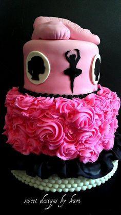 ballerina cakes on Pinterest