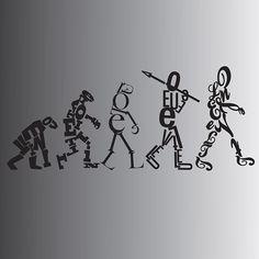 Typography inspiration / Evolution
