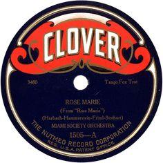 Pix For > Vintage Record Label Logo