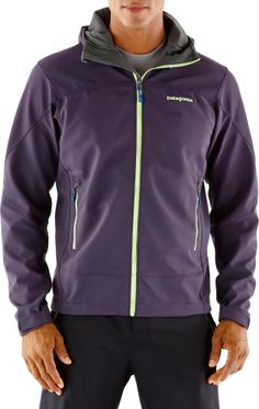 The Patagonia Adze hoodie jacket for men keeps you warm and dry during cold-weather outings. #REIGifts