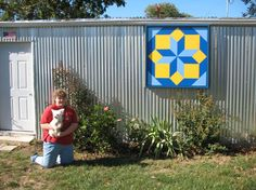Rolling Star Barn Quilt Visit & Like our Facebook page! https://www.facebook.com/pages/Rustic-Farmhouse-Decor/636679889706127
