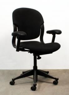 New and Used Herman Miller Equa 2 Used Task Chair, Black