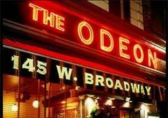 The Odeon in Tribeca, after a late night at the downtown clubs. Zippertravel.