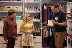 The Big Bang Theory Photos: Sheldon the mailman in The Closet Reconfiguration Episode 19 of Season 6 on CBS.com