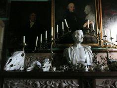 Mantle full of skulls Malplaquet House