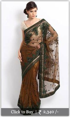 Net saree looking awesome with embroidery design.. #embrodierysarees