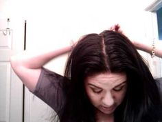 not washing hair maintance for oily hair. how to get healthy hair. (+pla...