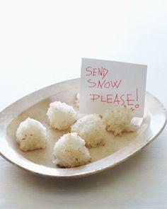 Sweet Paul's Let-It-Snow Coconut Cookies