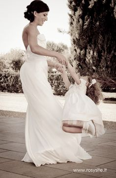 Bride having fun with her daughter, Selena and Finny Wedding Save The Dates, Wedding Pics, Our Wedding, Destination Wedding, Dream Wedding, Wedding Dresses, Wedding Ideas, Couple Picture Poses, Couple Pictures