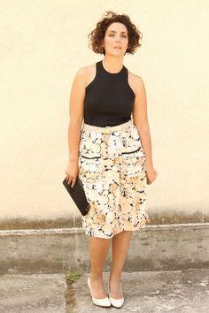 vintage fashion, curvy fashion, curves, plus size, moda taglie forti, curve, curves