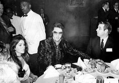 """This picture was taken On January 16, 1971  at the US Jaycee prayer breakfast; he and nine others accepted the honour of being named """"one of the Ten Outstanding Young Men of the Nation"""" by the United States Junior Chamber of Commerce (The Jaycees)."""