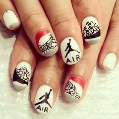 AIR JORDAN #nail #nails #nailart