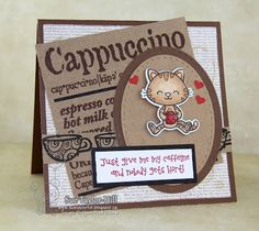 Your Next Stamp:  Coffee...Right Meow! Stamp set #yournextstamp