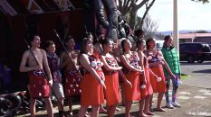 Coutume, Spectacle, Chant, Nouvel An, New Zealand, Singing, Unique, Maori, Traditional