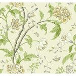"<strong>Carey Lind Vibe Teahouse 27' x 27"" Floral and Botanical Wallpaper</strong> by York Wallcoverings"
