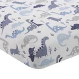 Bedtime Originals This coordinating Roar Bedtime Originals Dinosaur Fitted Crib Sheet features an assortment of friendly dinosaurs in blues and grays on a crisp white ground. The sheet has elastic all the way around to ensure a more secure fit. Baby Boy Rooms, Baby Boy Nurseries, Baby Cribs, Baby Crib Bedding Sets, Nursery Bedding, Crib Sheets Boy, Crib Sets, Nursery Themes, Nursery Ideas