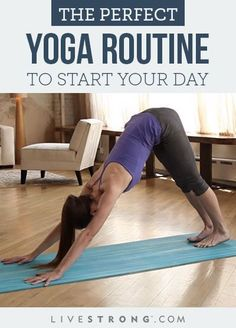A 5-Minute Morning Yoga Routine to Start the Day Right.