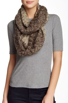 f75da881449f8 Elie Tahari - Space Dye Infinity Scarf at Nordstrom Rack. Free Shipping on  orders over
