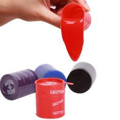 1 Pcs Random Color New Barrel Slime Fun Shocker Joke Gag Prank Gift Crazy Trick Party Supply Paint Bucket Novelty