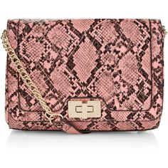 Accessorize Genie Snake Quilted Chain Across Body Bag (480 EGP) ❤ liked on Polyvore featuring bags, handbags, shoulder bags, crossbody chain purse, crossbody handbag, red crossbody purse, quilted purses and crossbody purse