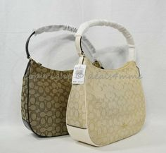 NWT Coach F29959 Zip Shoulder Bag in Signature Jacquard Hobo Shoulder Bag   Coach   9820bd2730e32
