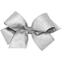 Wee Ones Party Glitter Hair Bow on a WeeStay Clip (18 AUD) ❤ liked on Polyvore featuring accessories, hair accessories, glitter hair accessories, glitter hair bows and bow hair accessories