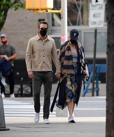 Ryan Reynolds Style, Blake Lively Ryan Reynolds, Blake And Ryan, Blake Lively Style, Mens Fall, Autumn Fashion, Winter Jackets, Normcore, New York