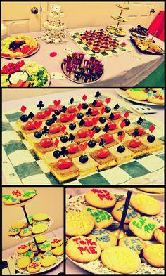 I love the checkerboard sandwiches!