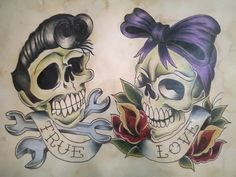 Art (rockabilly, zombie, rat rods etc) on Pinterest | 31 Pins