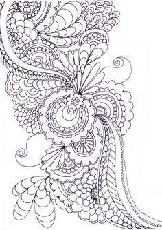 "zentangle Note: I hope you have pinned what you like from this board, as I am planning to remove some designs that have not been repinned and those with which I have ""fallen out of like."""