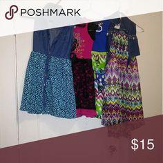 Summer dress Gently worn girl summer dresses. Bundle deal all 4 dress. Dresses Casual