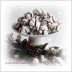 Moje Wypieki | Popękane ciasteczka czekoladowe