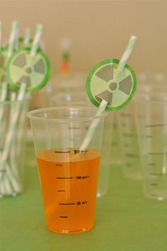 science theme party | Party Theme - Science Party / mad_science_dessert_table_glass_straw ...