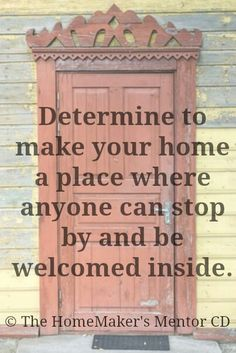 Come on in :)