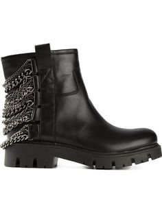 Shop Baldan chain detail biker boots in Biondini Paris from the world's best independent boutiques at farfetch.com. Over 1000 designers from 60 boutiques in one website.